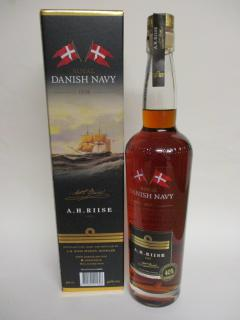 A.H.Riise Danish Navy Rum 40%