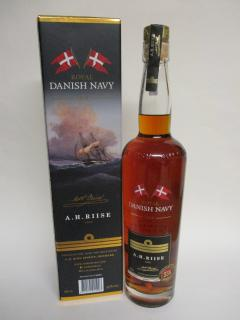 A.H.Riise Danish Navy Rum 55%