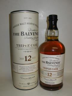 Balvenie 12 Jahre Triple Cask Liter