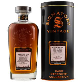 Blair Athol 2008 Jahre Cask Strength Sherry