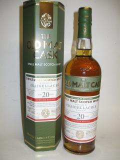 Craigellachie Old Malt Cask 20 Jahre Sherry Butt