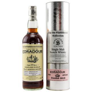 Edradour First Fill Sherry Butt Cask 9