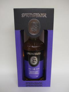 Springbank 18 Jahre Release 2019