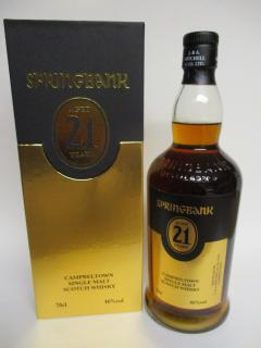 Springbank 21 Jahre Port/Rum Cask 2019