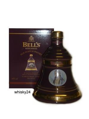 Bells Weihnachtsdecanter 2002