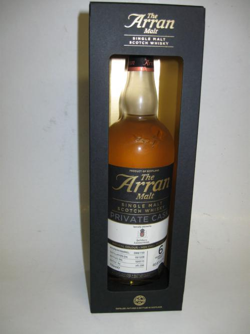Arran Exclusiv Cask Peated 2008
