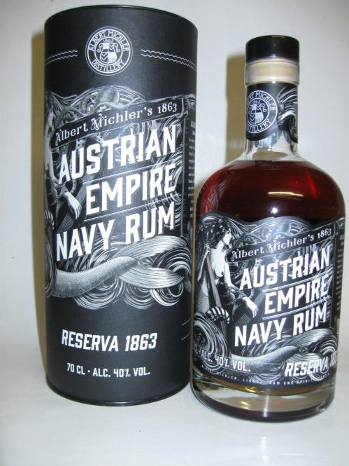 Austrian Empire Navy Rum Reserve 1863