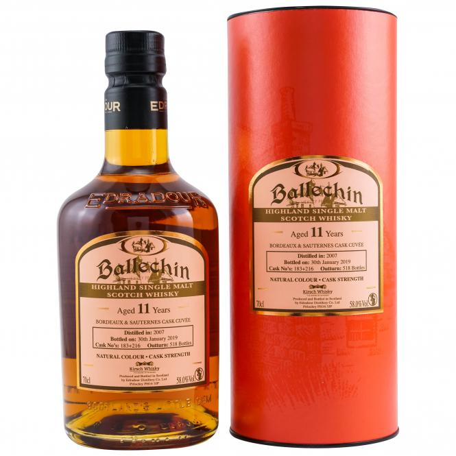 Ballechin Cask Strength Bordeaux Sauternes