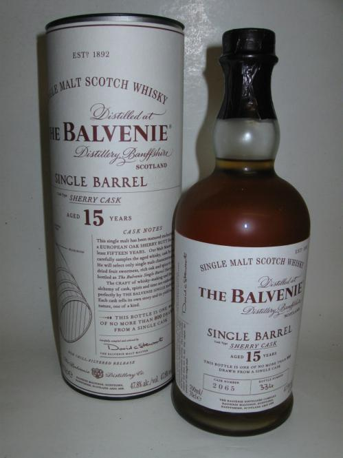 Balvenie 15 Jahre Single Barrel Sherry