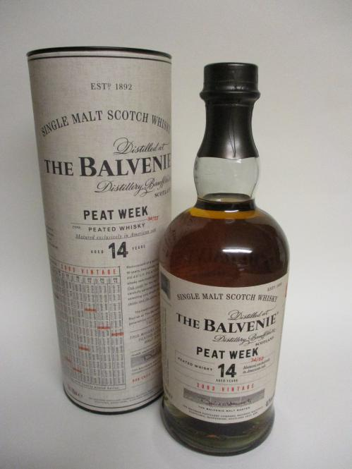 Balvenie 14 Jahre Peat Week Vintage 2003