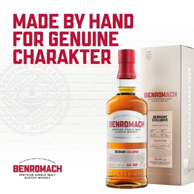 Benromach Exclusiv Germany 2009