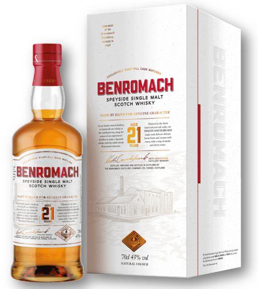 Benromach 21 Jahre