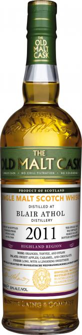 Blair Athol Vintage 2011 Old Malt Cask