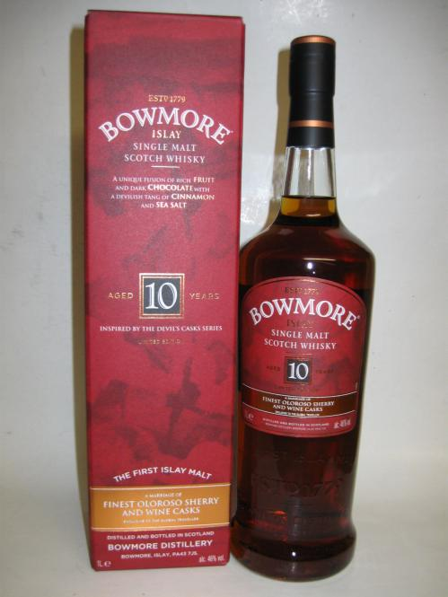 Bowmore 10 Inspired by the Devil Cask Series