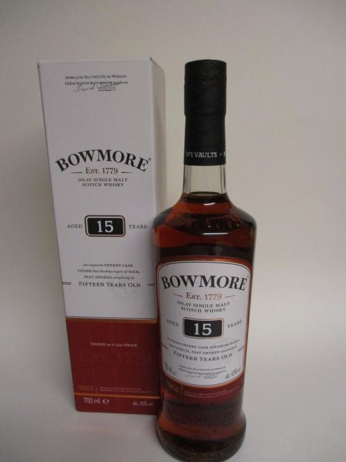 Bowmore 15 Jahre Sherry Cask