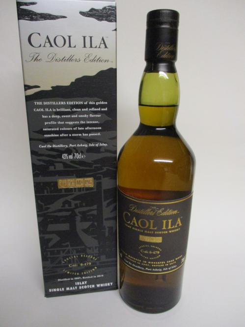 Caol Ila Distillers Edition 2019