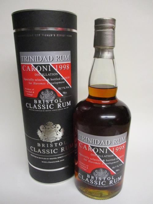 Caroni Rum 1998 Single Cask