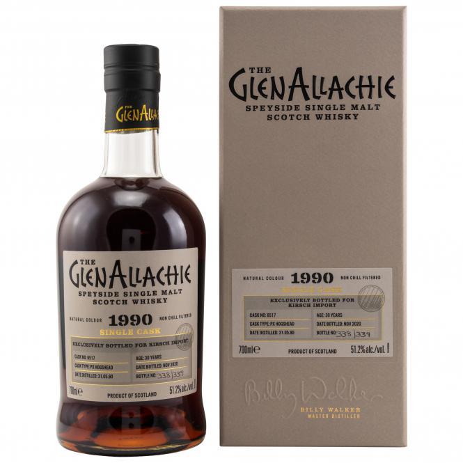 Glenallachie 1990 PX Single Cask