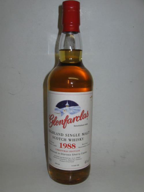 Glenfarclas Christmas Malt 1988