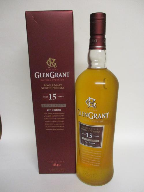 Glen Grant Batch Strength 15 Jahre