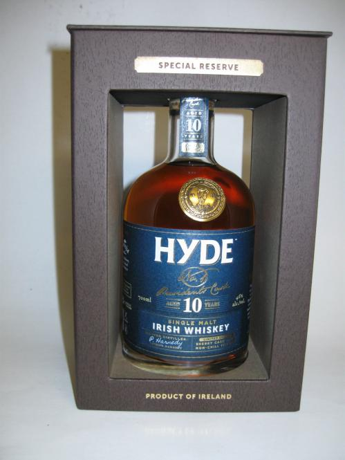 Hyde Nr1 Presidents Cask Irish Whiskey Sherry Cask