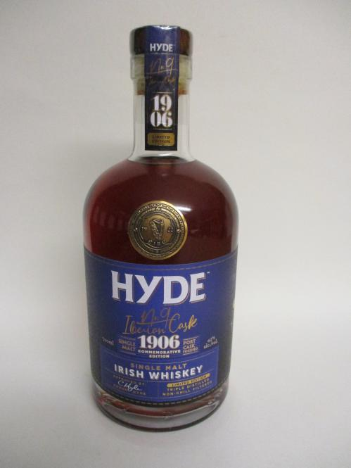 Hyde Nr 9 Iberian Cask Irish Whiskey Port Cask