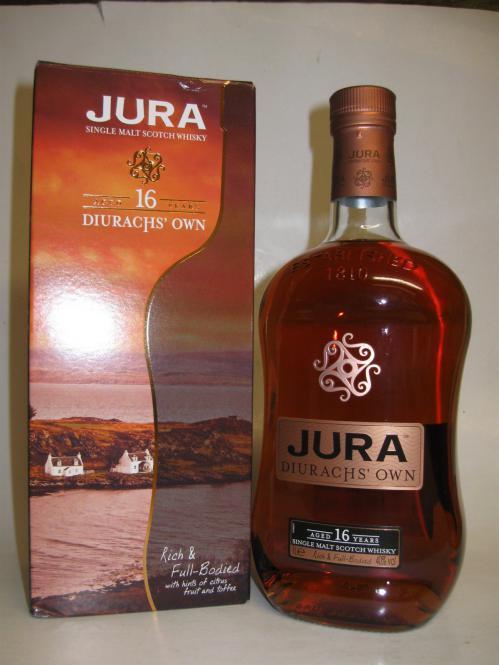 Isle of Jura 16 Jahre Diurachs' Own Ein Liter