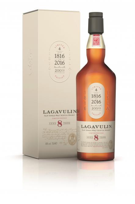 Lagavulin 8 Jahre Sonderabfüllung 200 Jahre Jubiläum