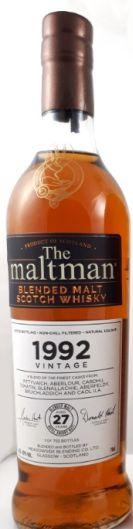 Maltman Blend Cask Strength Small Batch 27yo