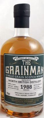 North British Grain 1988 31yo