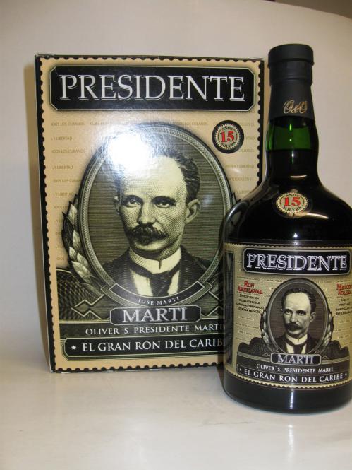 Presidente Marti 15 Jahre Solera