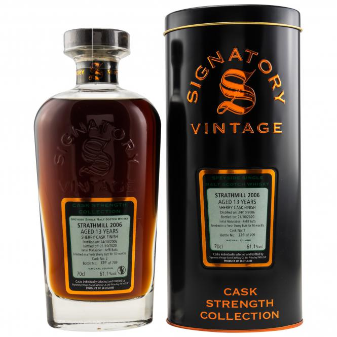 Strathmill Cask Strength Sherry Butt
