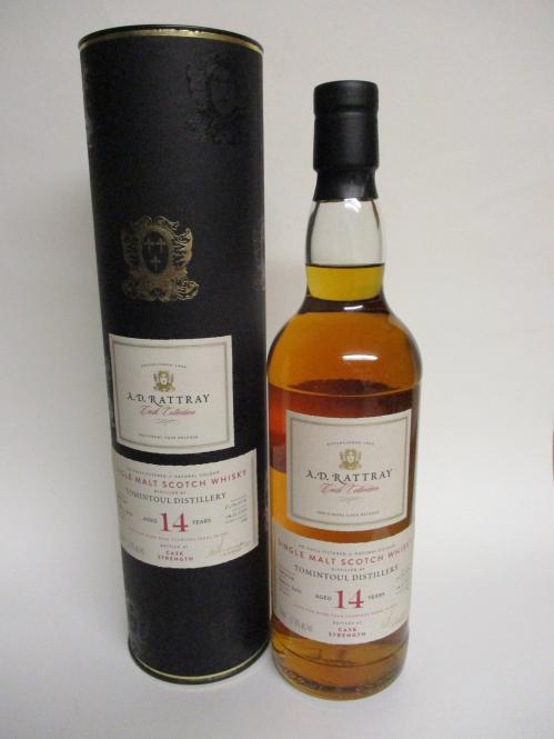 Tomintoul Cask Strength Sherry Butt 14 Jahre