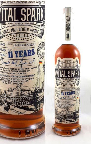 Vital Spark Heavily Peated Sherry Butt Batch 5